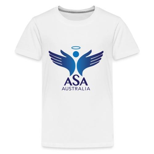 3459 Angelman Logo AUSTRALIA FA CMYK - Kids' Premium T-Shirt