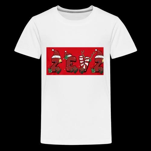 zevz chris mas merch - Kids' Premium T-Shirt
