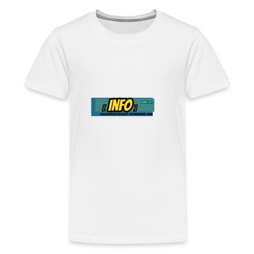 SalmonCraaft's info - Kids' Premium T-Shirt