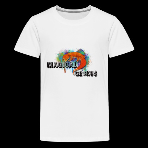 Magical Geckos Paint scheme - Kids' Premium T-Shirt