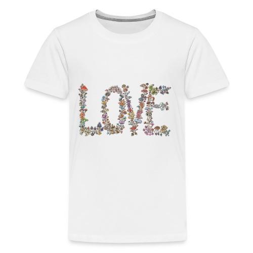 MUSHROOM LOVE - Kids' Premium T-Shirt
