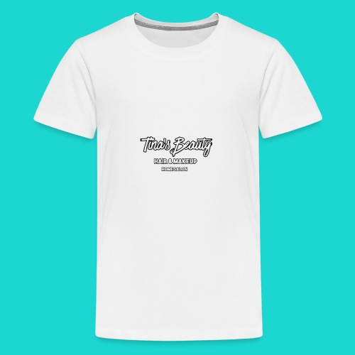 Tina's Beauty - Kids' Premium T-Shirt