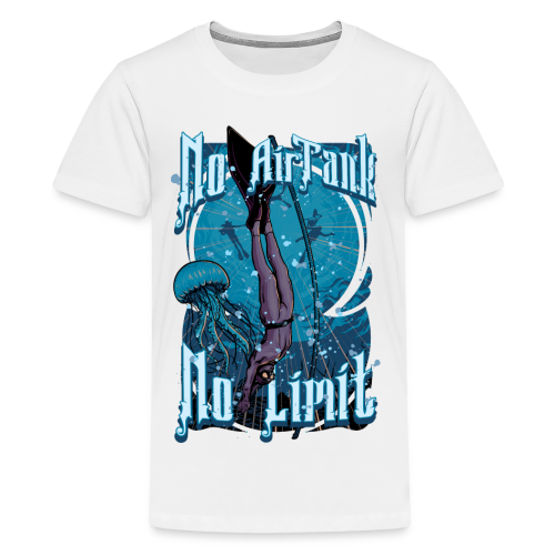 No Air Tank No Limit Freediving merchandise - Kids' Premium T-Shirt