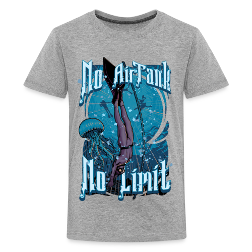 No Air Tank No Limit Freediving merchandise - Kids' Premium T-Shirt