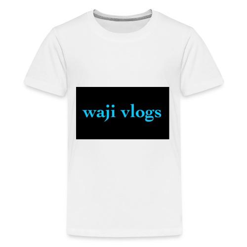 WAJI VLOGS - Kids' Premium T-Shirt