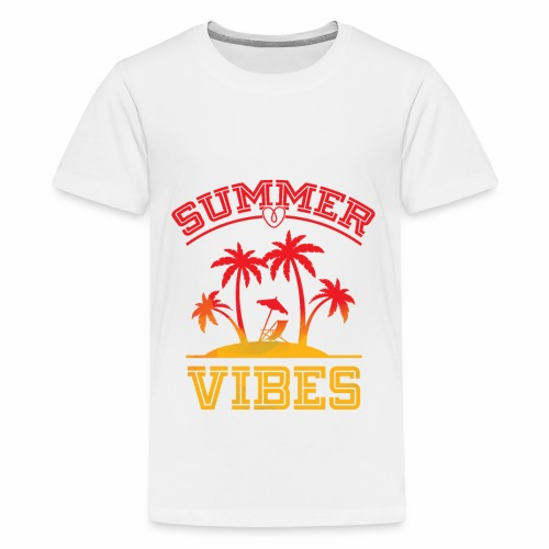 Summer Vibes - Kids' Premium T-Shirt
