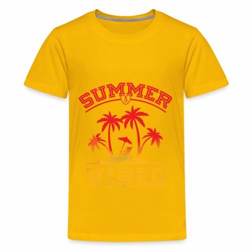Summer Vibes - Kids' Premium T-Shirt