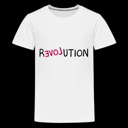 re-LOVE-ution - Kids' Premium T-Shirt