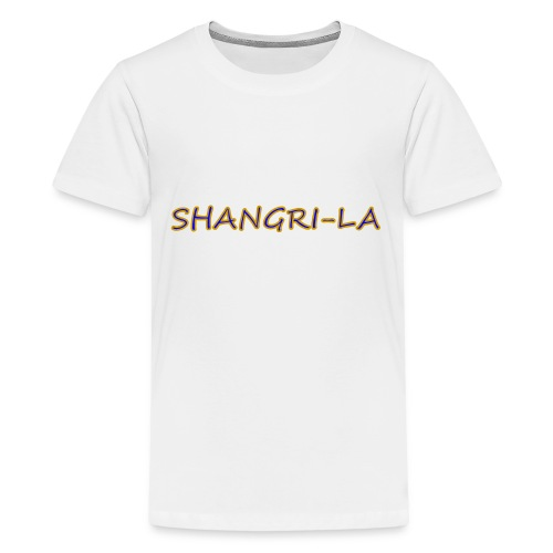 Shangri La gold blue - Kids' Premium T-Shirt
