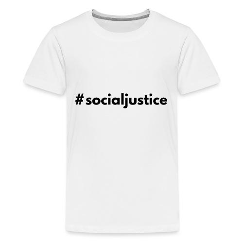#socialjustice - Kids' Premium T-Shirt