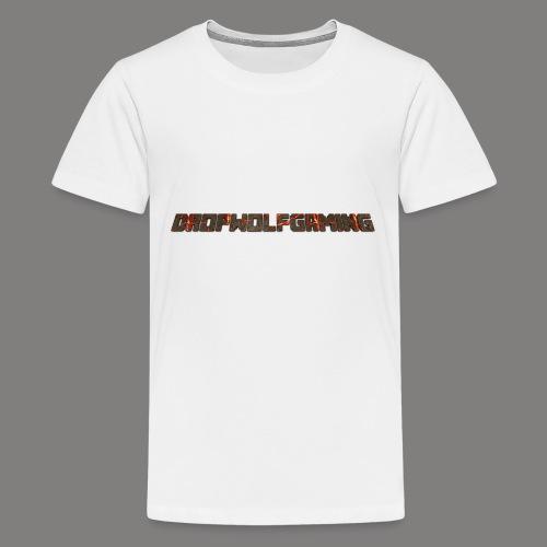 DropWolfGaming - Kids' Premium T-Shirt