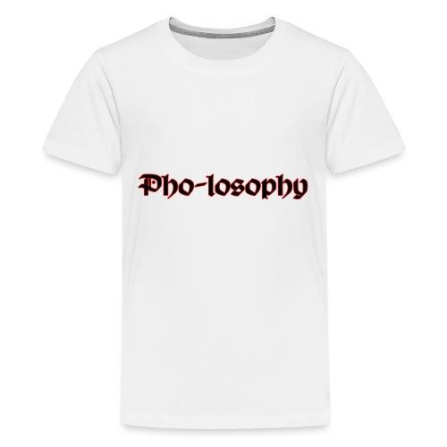 Pholosophy WordMark - Kids' Premium T-Shirt