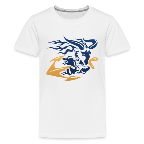 Goat with Anchor - Kids' Premium T-Shirt