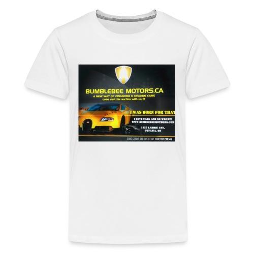 BUMBLEBEE MOTORS - Kids' Premium T-Shirt