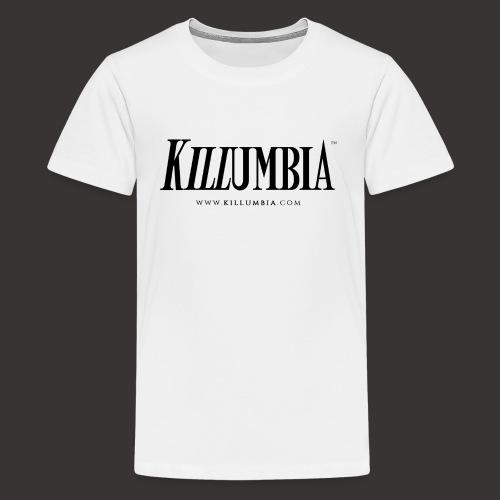 Killumbia Logo White - Kids' Premium T-Shirt