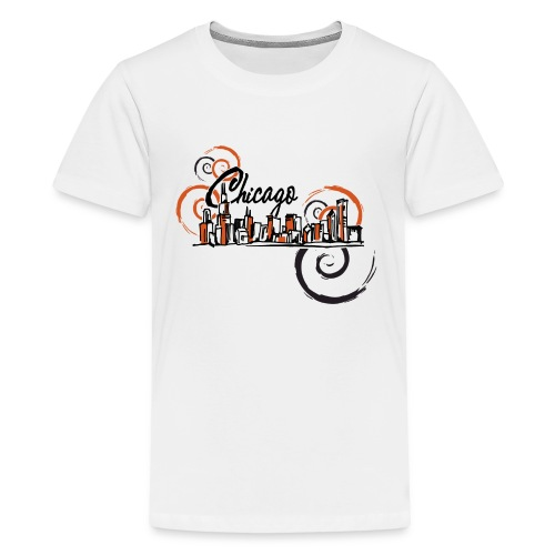Chicago_Logo - Kids' Premium T-Shirt