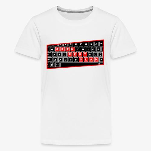 Keyboard PC Red - Kids' Premium T-Shirt