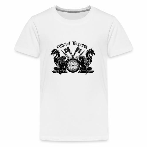 Atheist Republic Logo - Key Emblem - Kids' Premium T-Shirt