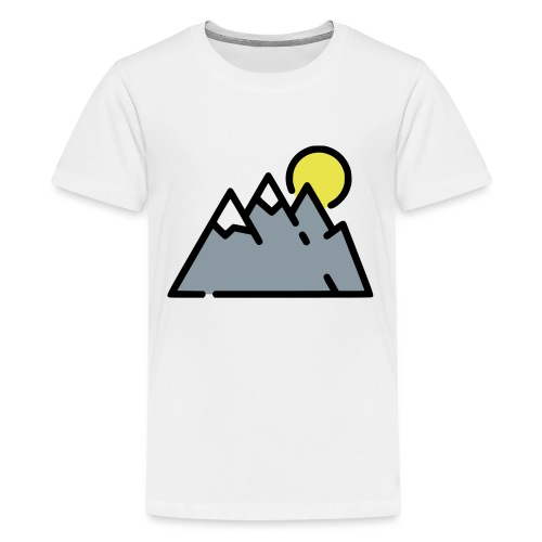The High Mountains - Kids' Premium T-Shirt