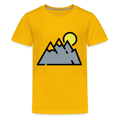 The High Mountains - Kids' Premium T-Shirt