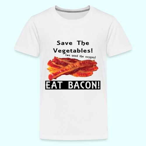 Eat Bacon! - Kids' Premium T-Shirt