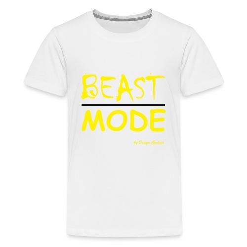 MODE, BEAST-YELLOW - Kids' Premium T-Shirt