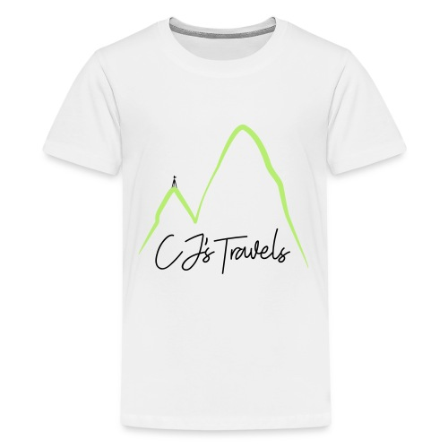 CJ s Travels Secondary - Kids' Premium T-Shirt