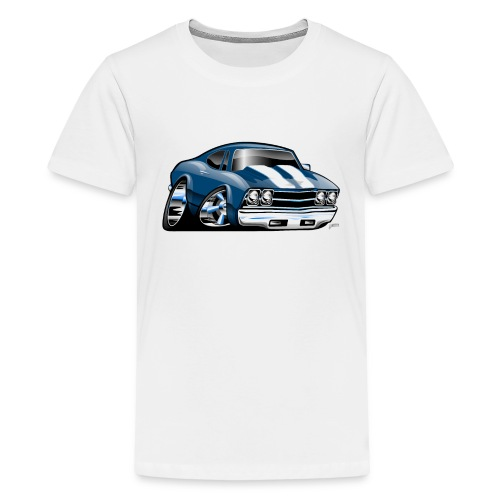 69 Muscle Car Cartoon - Kids' Premium T-Shirt