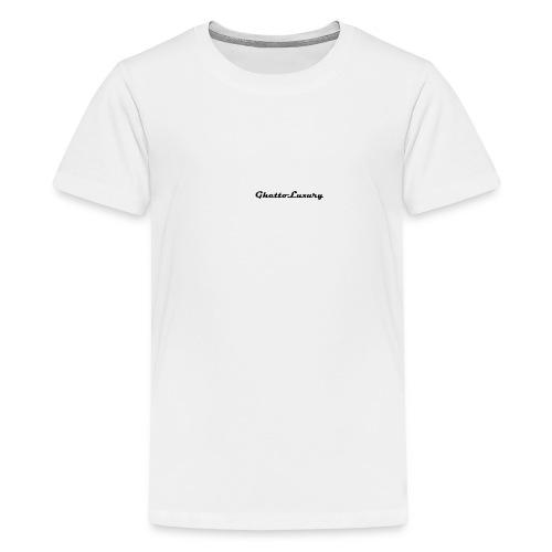 ghettoluxurylogo - Kids' Premium T-Shirt