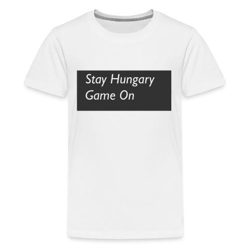 stayhungarygamemon - Kids' Premium T-Shirt