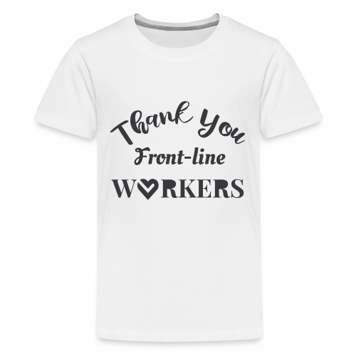Thank you fronline worker - Kids' Premium T-Shirt