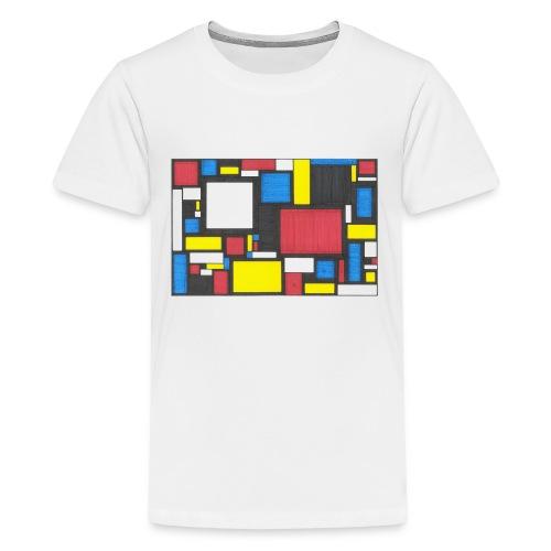 Geometric Pattern 2 - Kids' Premium T-Shirt