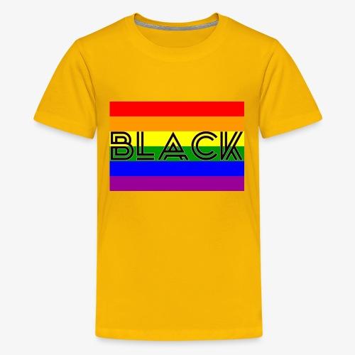 Black LGBTQ - Kids' Premium T-Shirt
