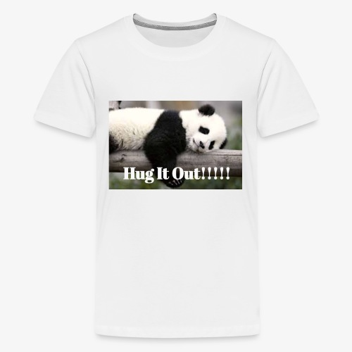 Hug It out Panda Merch - Kids' Premium T-Shirt