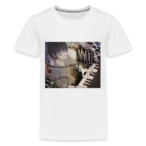 Dark Piano 1 - Kids' Premium T-Shirt