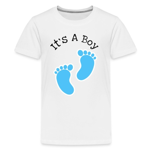 It's a boy, baby born design - Kids' Premium T-Shirt