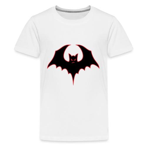 Bat-itude Bat Cartoon - Kids' Premium T-Shirt