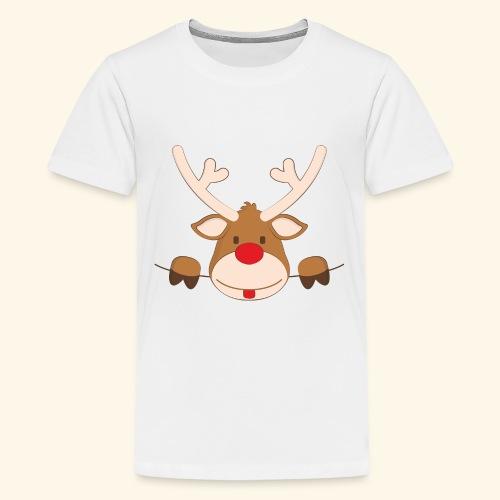 Pocket Rudolf - Kids' Premium T-Shirt