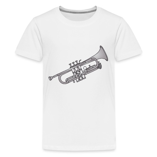 Trumpet brass instrument - Kids' Premium T-Shirt