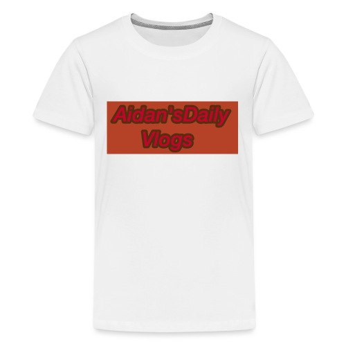 Aidan'sDailyVlogs Tshirts style#2 - Kids' Premium T-Shirt