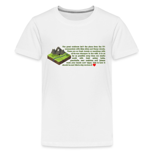 Loving Nature - Kids' Premium T-Shirt