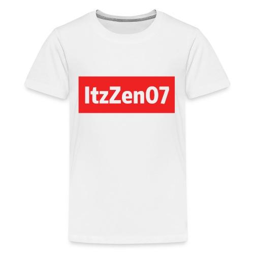 ItzZen07 Red Logo - Kids' Premium T-Shirt