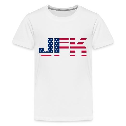 JFK - Kids' Premium T-Shirt