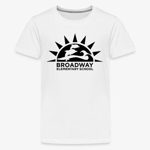 Broadway Elementary Logo - Kids' Premium T-Shirt
