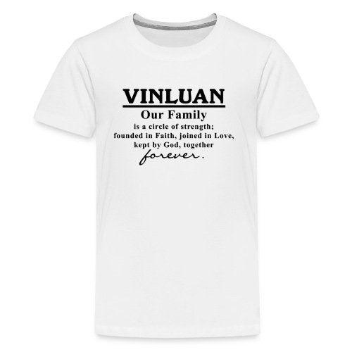 Vinluan Family 01 - Kids' Premium T-Shirt