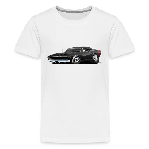 Classic 60's American Muscle Car Cartoon - Kids' Premium T-Shirt