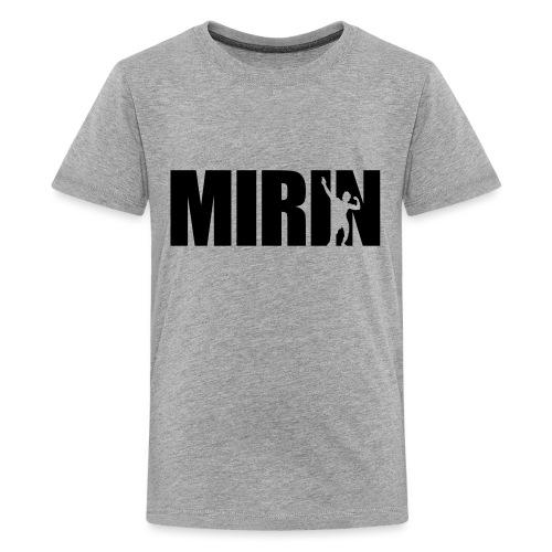 Zyzz Mirin Pose text - Kids' Premium T-Shirt