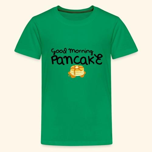 Good Morning Pancake Mug - Kids' Premium T-Shirt