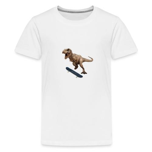 T-Rex Kickflip - Kids' Premium T-Shirt