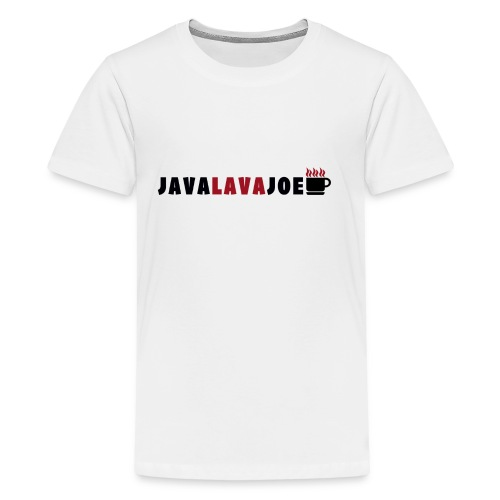 JavaLavaJoeLogo - Kids' Premium T-Shirt